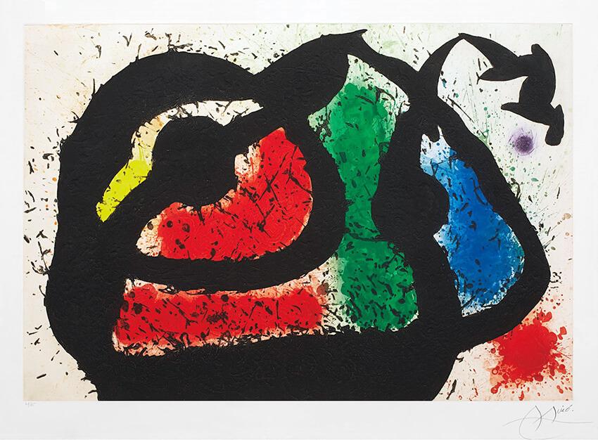 Joan Miro Print - L