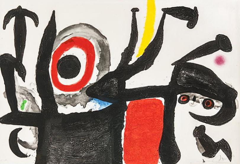 Joan Miro Print - Manoletina