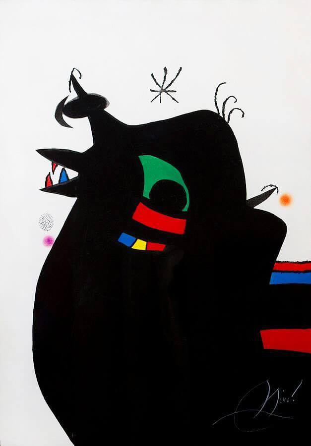 Joan Miro Print - Le Marechal des Logis
