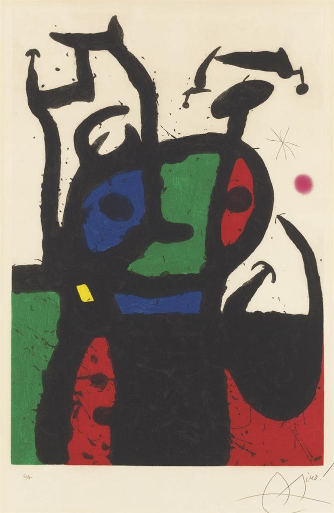 Joan Miro Print - Le Matador