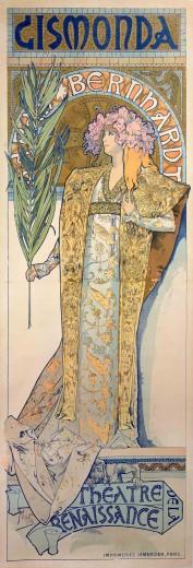 Alphonse Mucha Print - Gismonda