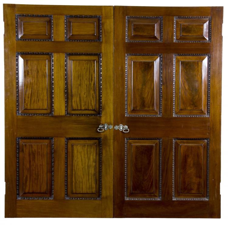Chippendale Style - 1770-1780 - Interior Doors - Mahogany