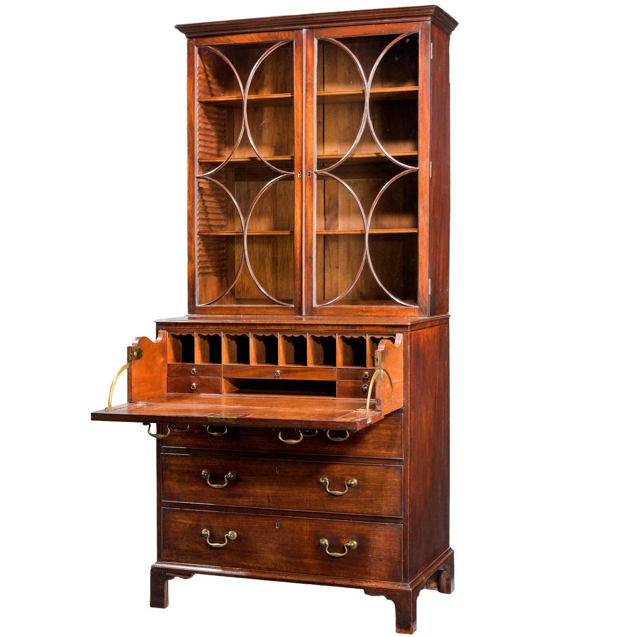 Chippendale Style - 1770 - Cabinet - Mahogany
