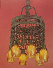 Lamp - Tiffany - Moorish Chandelier