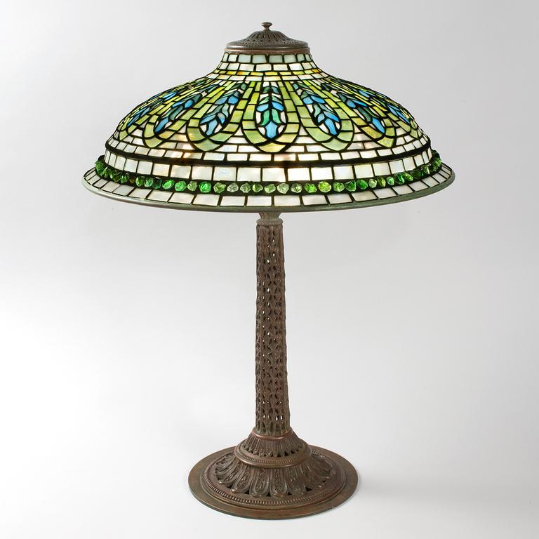 Lamp - Tiffany - Gentian Lamp