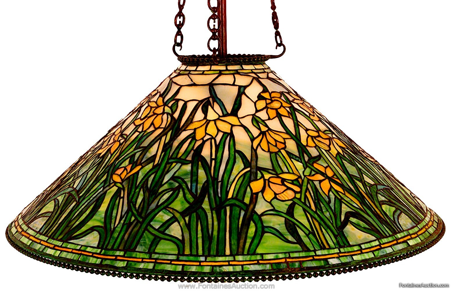Lamp - Tiffany - Daffodil Shade