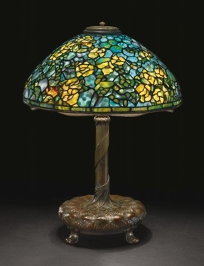 Lamp - Tiffany - Rambling Rose Shade
