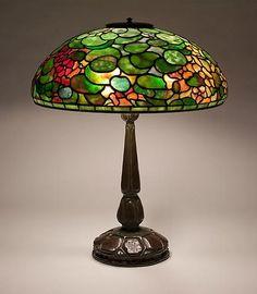Lamp - Tiffany - Nasturtium Shade