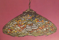 Lamp - Tiffany - Hanging Butterfly Shade