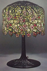Lamp - Tiffany - Pendant Cherry Tree Shade
