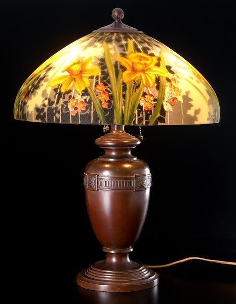 Lamp - Handel - Daffodil Shade on Urn Base