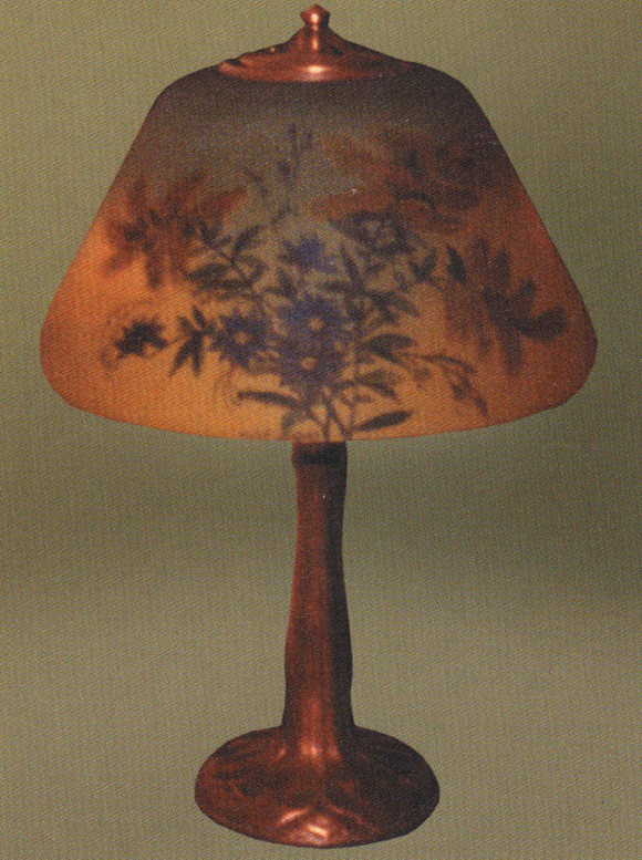 Lamp - Handel - Goldenrod Shade