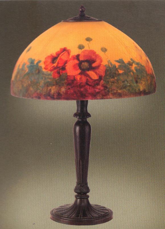 Lamp - Handel - Poppy Shade