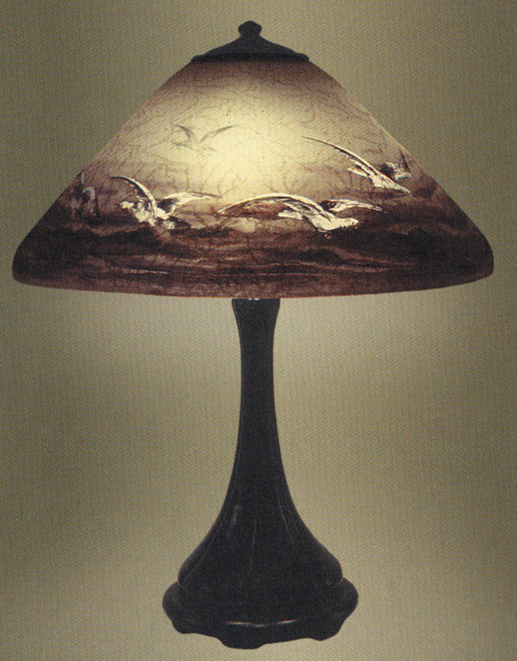 Lamp - Handel - Ocean Landscape