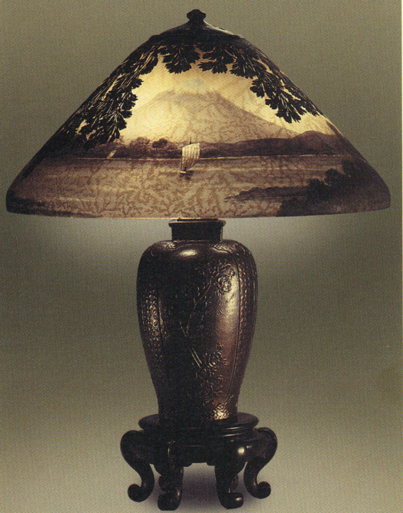 Lamp - Handel - Mount Fuji Shade