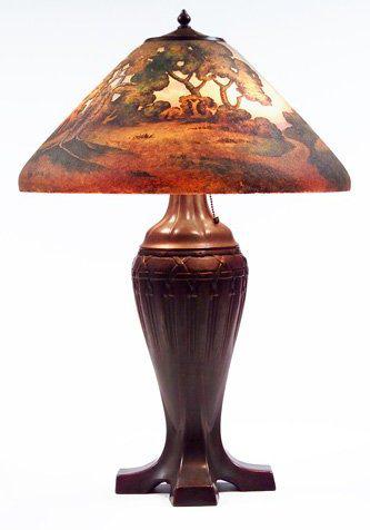 Lamp - Handel - Animated Landscape Shade