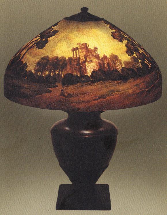 Lamp - Handel - Ancient Ruins Shade