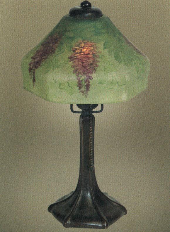 Lamp - Handel - Hanging Wisteria Shade