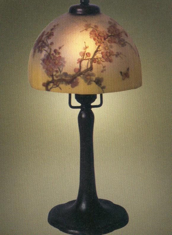 Lamp - Handel - Flowering Quince Shade