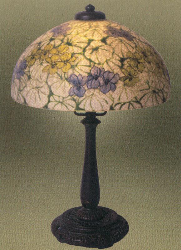Lamp - Handel - Floral Pastel Shade