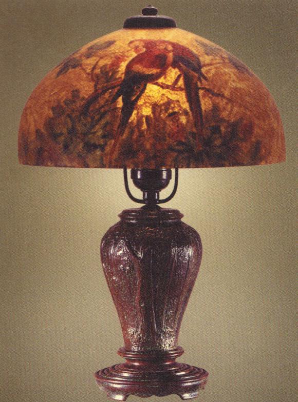 Lamp - Handel - Parrot Boudoir Lamp