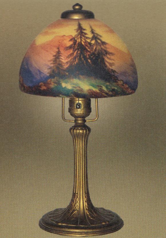 Lamp - Handel - Douglas Fir Shade