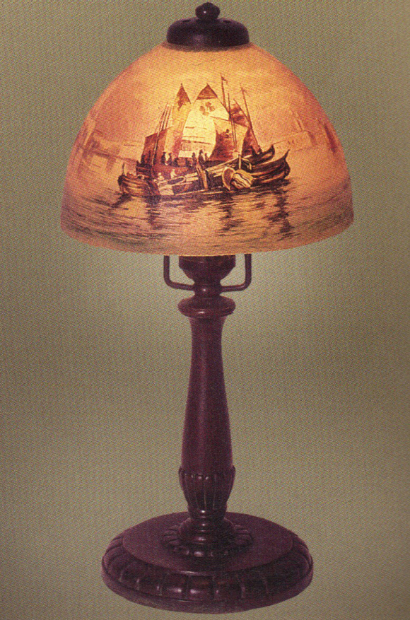 Lamp - Handel - Venetian Sailboat Shade