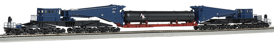 HO Scale - Bachmann - 80511 - Schnabel Car, North America - Painted/Unlettered