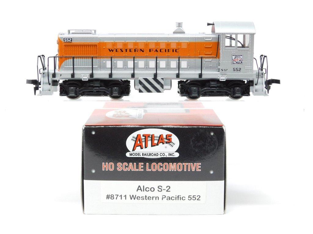 HO Scale - Atlas - 8711 - Locomotive, Diesel, Alco S-2 - Western Pacific