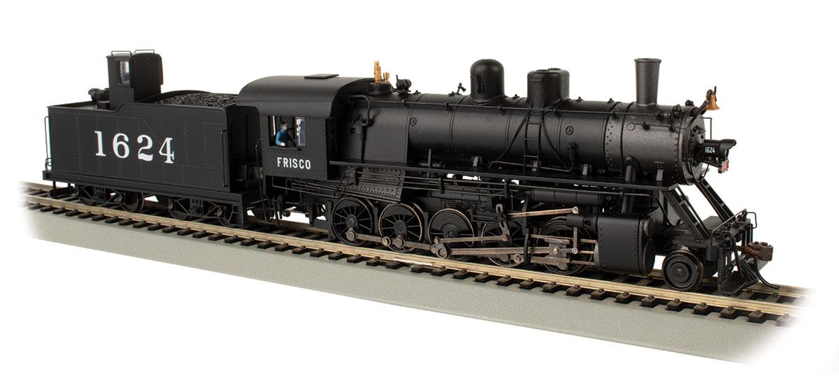 HO Scale - Bachmann - 85403 - Locomotive, Steam, 2-10-0 Decapod - Frisco - 1624