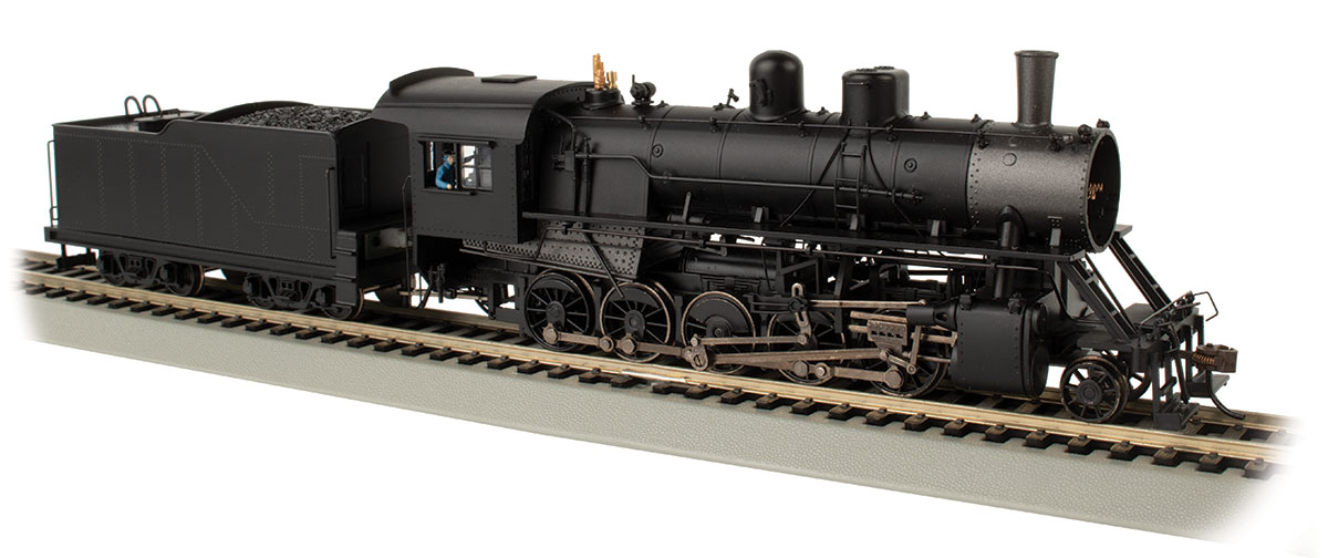 HO Scale - Bachmann - 85405 - Locomotive, Steam, 2-10-0 Decapod - Undecorated