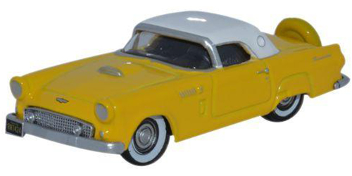 Diecast Metal Vehicles - Oxford Diecast - 87TH56005 - Goldenglow Yellow with Colonial White Roof