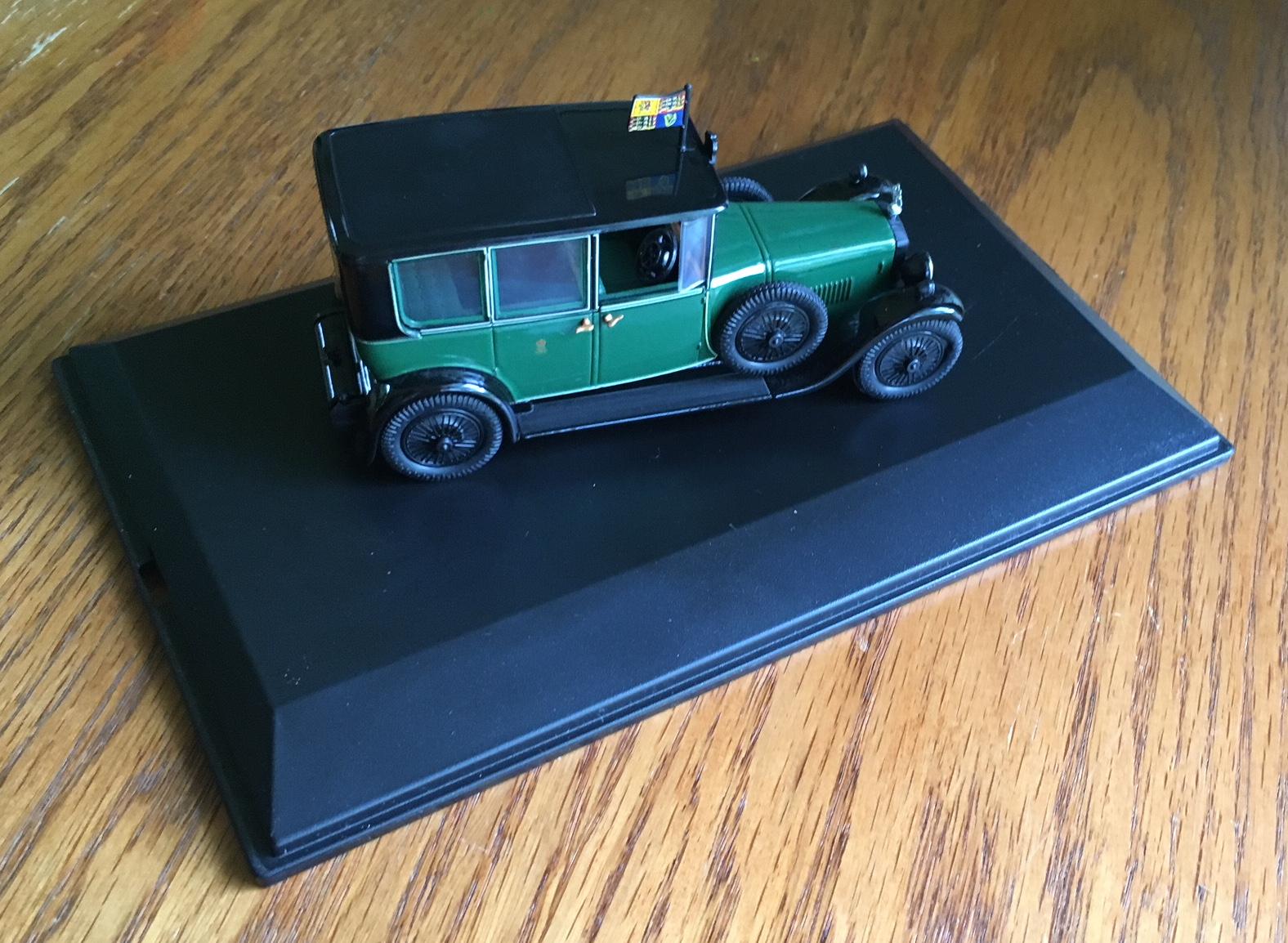 Diecast Metal Vehicles - Oxford Diecast - RD002 - Green