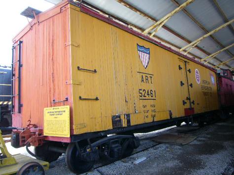 American Refrigerator Transit - Railroad Equipment