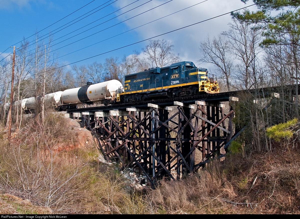 Atlantic & Western - Railroad