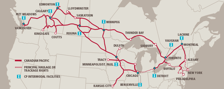 Transportation Company - Canadian Pacific - Railroad