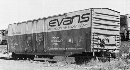 Evans Products - Railroad Equipment