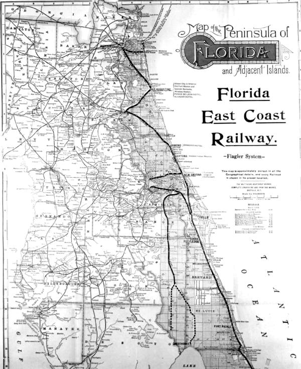 Transportation Company - Florida East Coast - Railroad