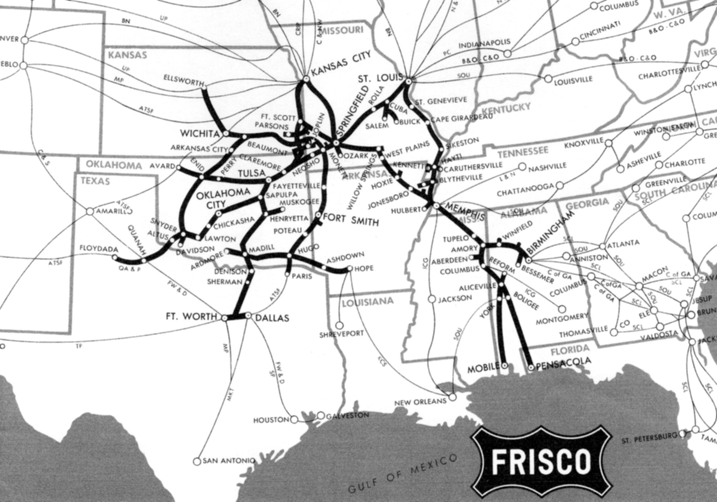Frisco - Railroad