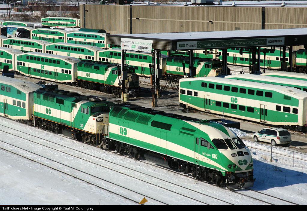Go Transit - Railroad