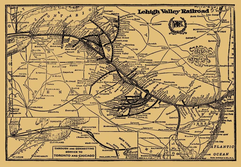 Transportation Company - Lehigh Valley - Railroad