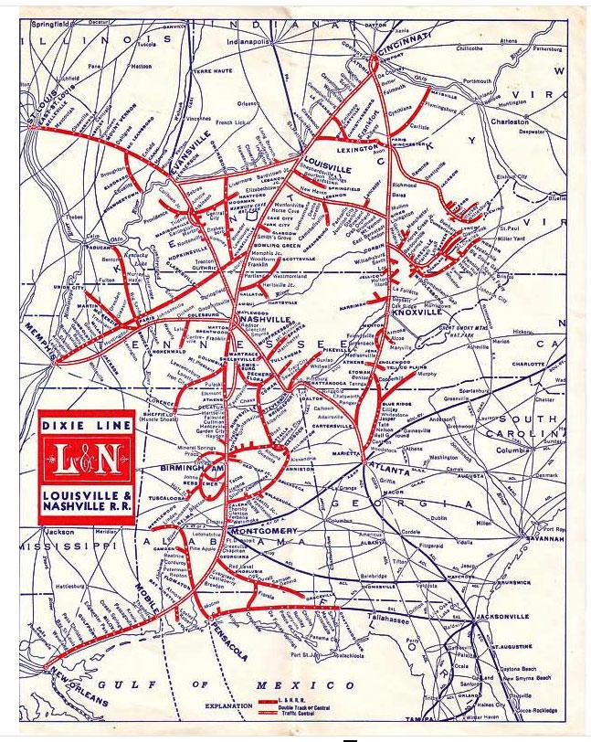 Transportation Company - Louisville & Nashville - Railroad