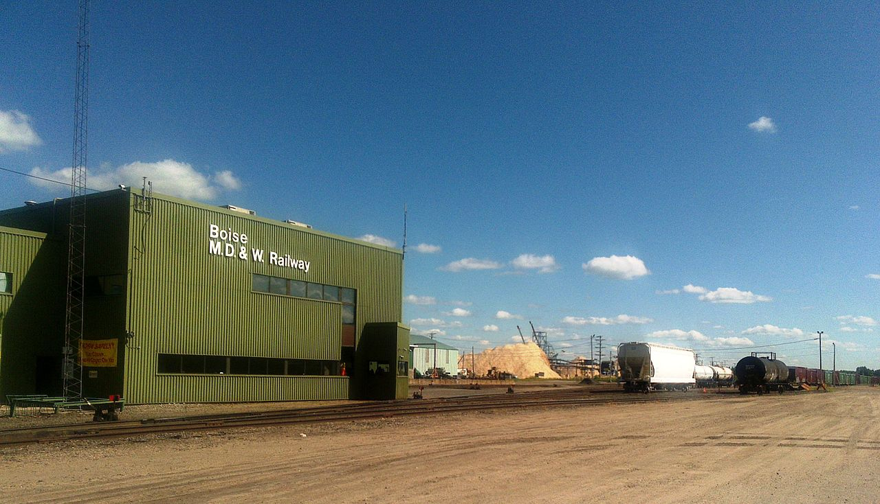 Transportation Company - Minnesota Dakota and Western - Railroad