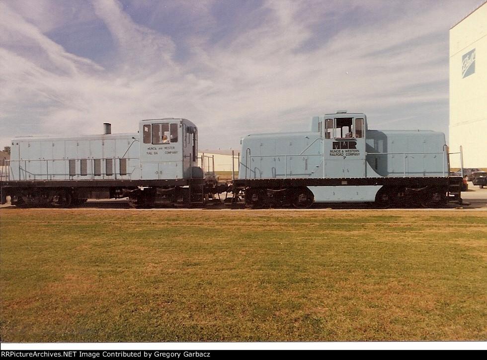 Transportation Company - Muncie & Western - Railroad