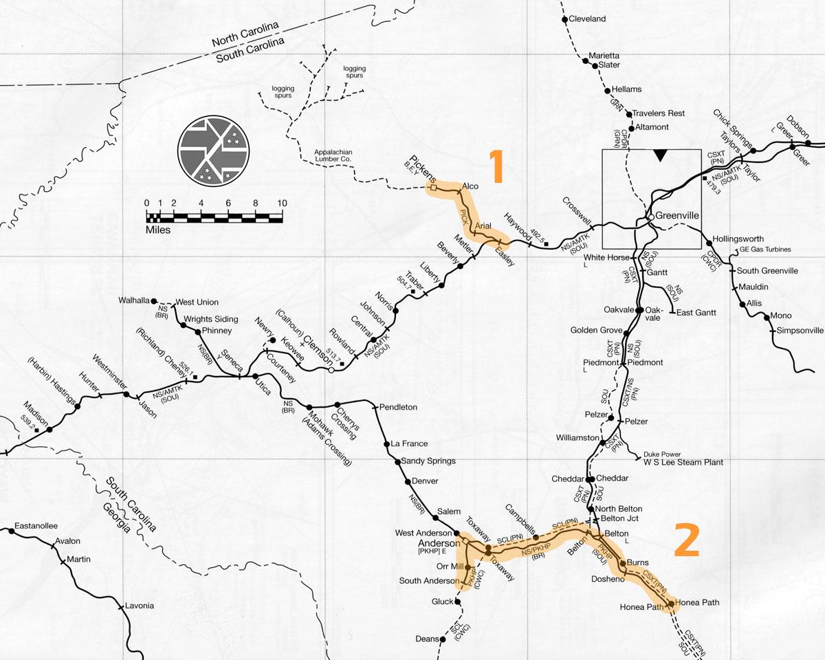 Transportation Company - Pickens - Railroad
