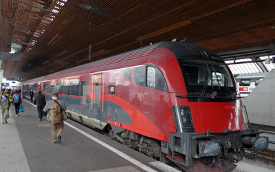 Transportation Company - Railjet - Railroad