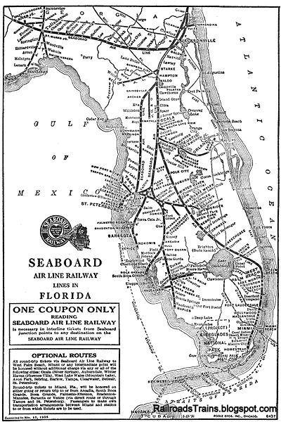 Transportation Company - Seaboard Air Line - Railroad