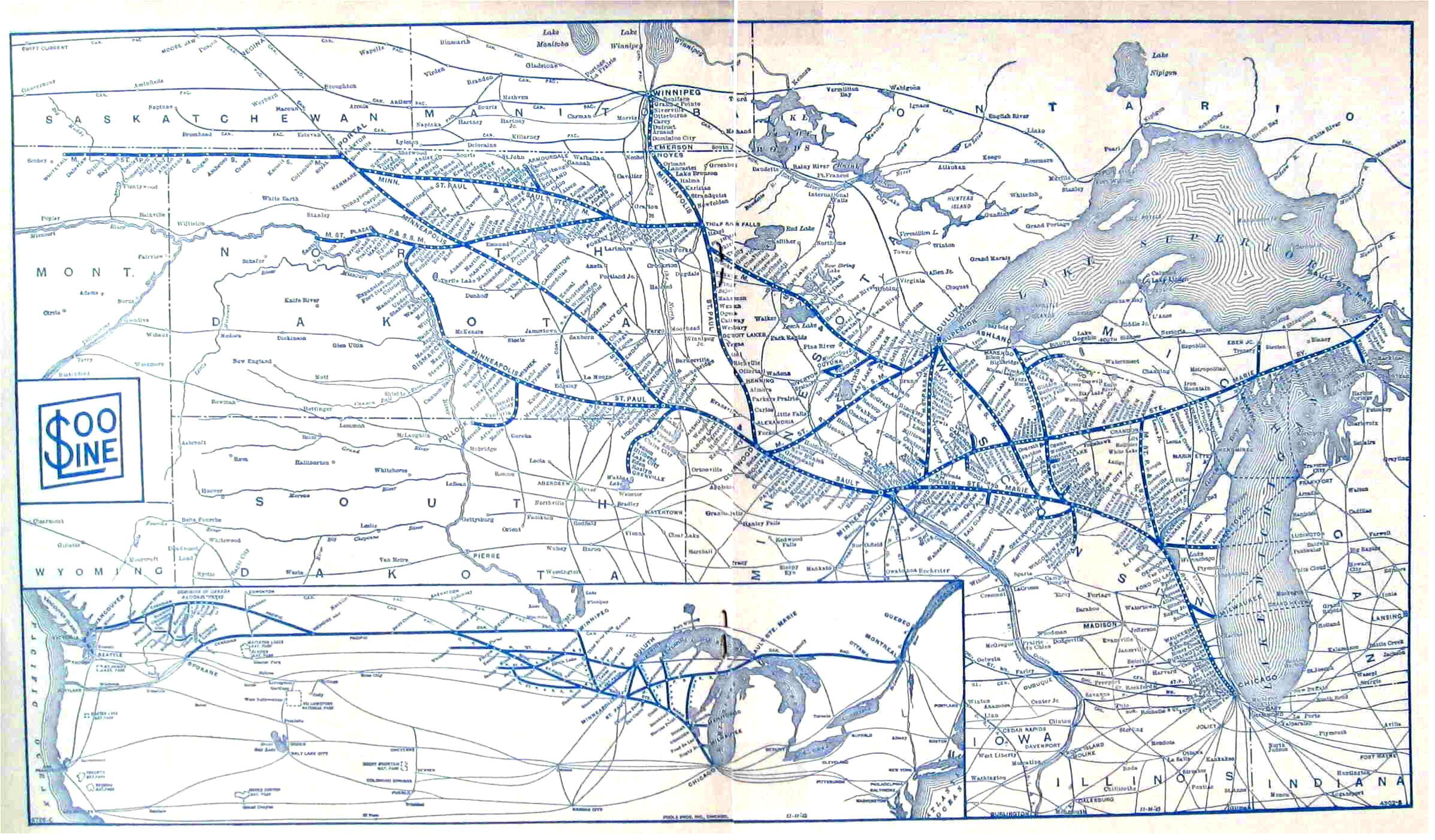 Transportation Company - SOO Line - Railroad