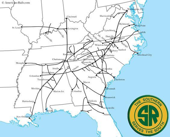 Transportation Company - Southern - Railroad