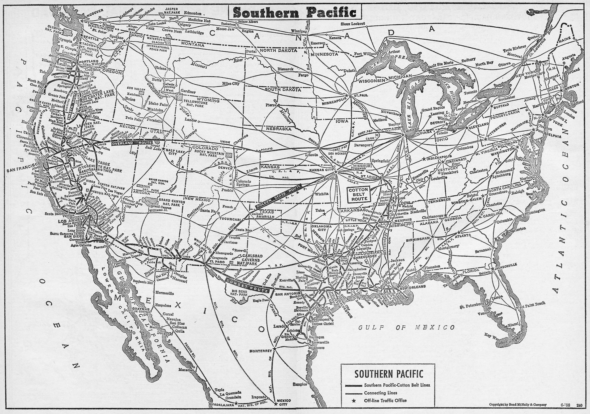 Southern Pacific - Railroad